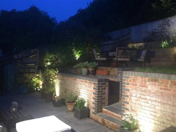 REAR GARDEN NIGHT