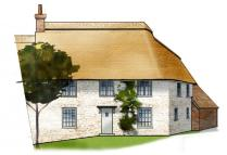 semi detached house in Wyndhams Place, Tisbury...
