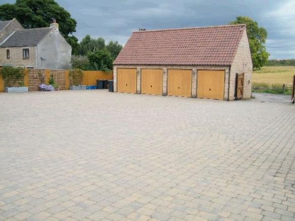 Garages and courtyar
