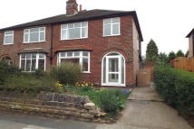 3 bedroom semi detached house for sale in Elvaston Road, Wollaton...