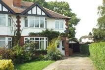 3 bedroom semi detached property in Sandringham Crescent...