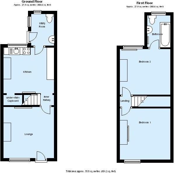 Uk Terraced House Floor Plans Escortsea