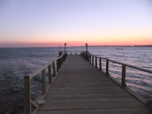 Pier at Akbuk