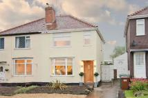 2 bed semi detached property in Belt Road, Hednesford...