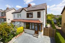 semi detached property for sale in Victoria Drive...