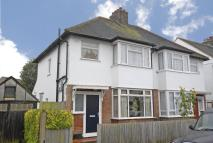 3 bedroom semi detached property in Gundulph Road, Bromley