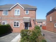 3 bedroom semi detached property in Heron Court Knowles Road...