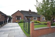 Moor Road Semi-Detached Bungalow for sale