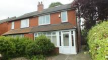 3 bedroom semi detached property to rent in Stanmore Crescent...