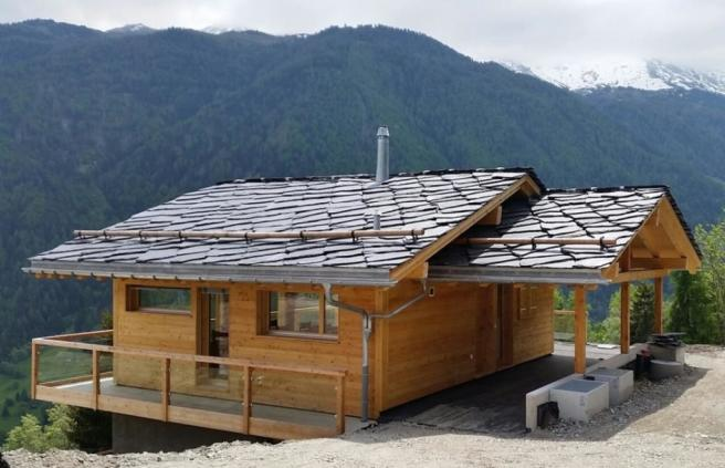 Previous chalet buil