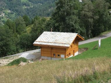 First of chalets bui