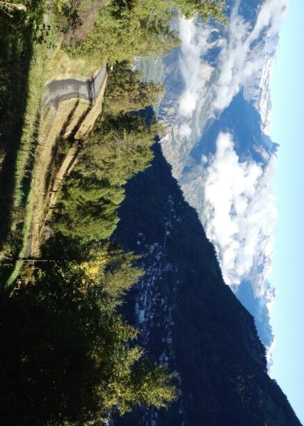 The stunning views