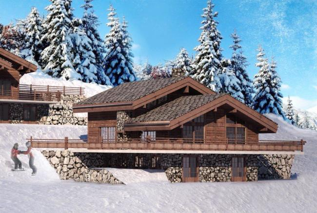 Chalet 3 to be built