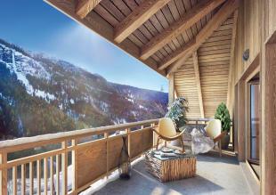 Stunning balcony vie