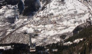 Cable car to Alpe d'