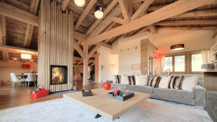 Main chalet living r