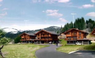 The 3 chalets to be