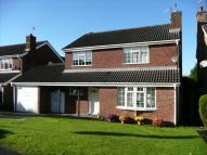 4 bed Detached house in Burbage Close, Belper