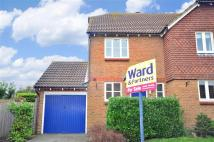 2 bed semi detached home in Smallhythe Close...
