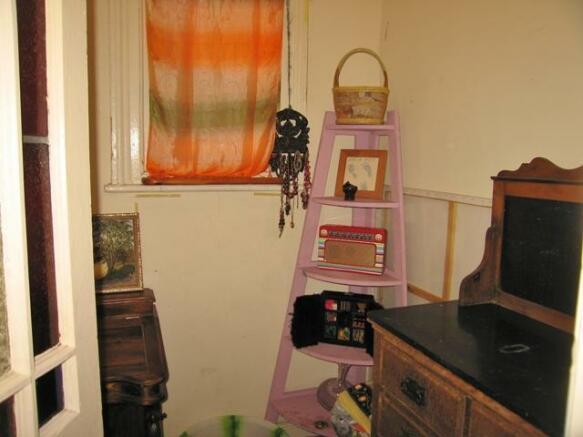 first floor study area