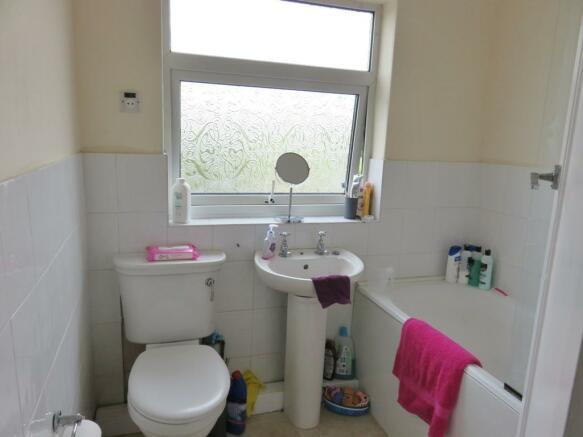 First Floor - Family Bathroom