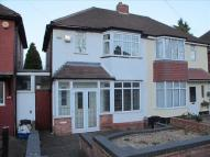 2 bedroom semi detached property for sale in Charlbury Crescent...