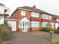 semi detached house for sale in Coventry Road, Sheldon...