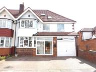 semi detached property for sale in Shirley Road, Hall Green...