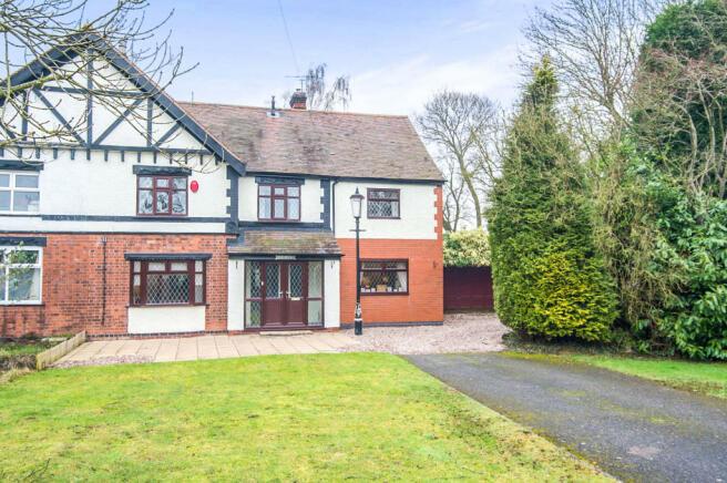 3 bedroom semi detached house for sale in shuttington road alvecote tamworth b79