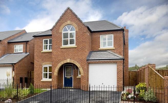 4 bedroom detached house for sale in croft close kettlebrook tamworth b77