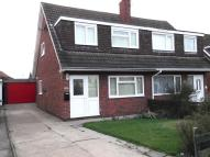 3 bed semi detached house to rent in Laughton Road, Beverley...