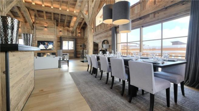 Megeve Dining Area