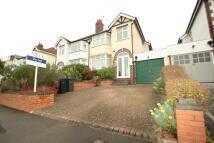3 bedroom semi detached house in Weymoor Road, Harborne...