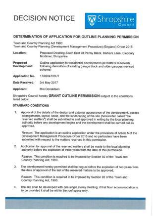 Decision Notice P1