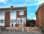 3 bed semi detached house in Roman Way, Irchester...