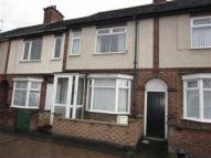 Terraced house in Central Avenue, Nuneaton