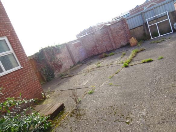 Rear Yard