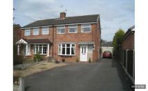 3 bedroom semi detached home in Oldfield Road, Sandbach