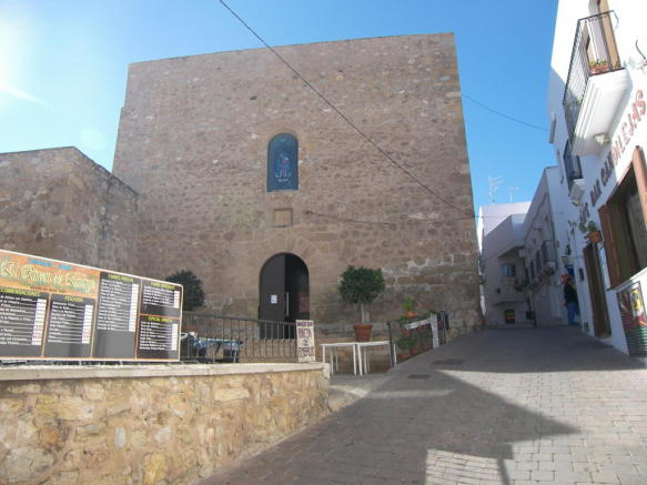 Mojácar church