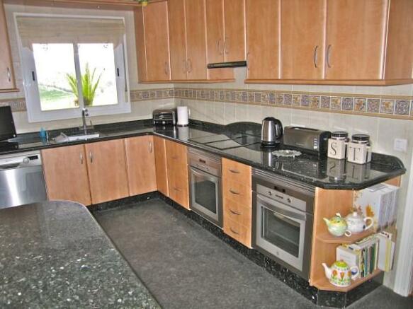 LivingSecond kitchen