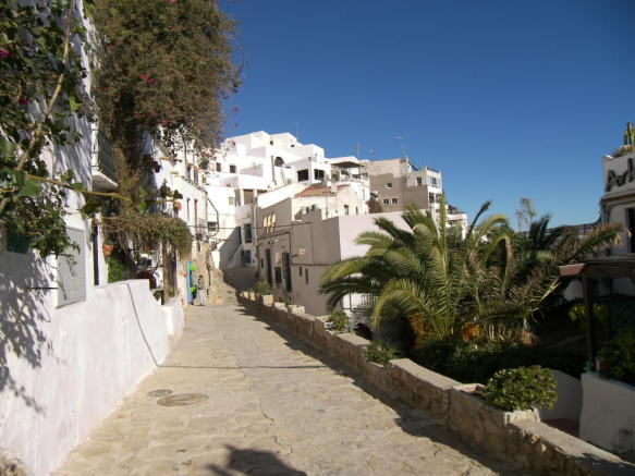Mojácar street