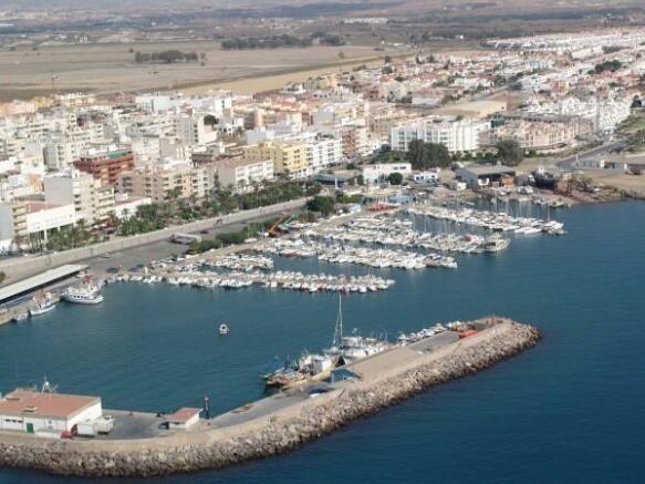 Garrucha harbour