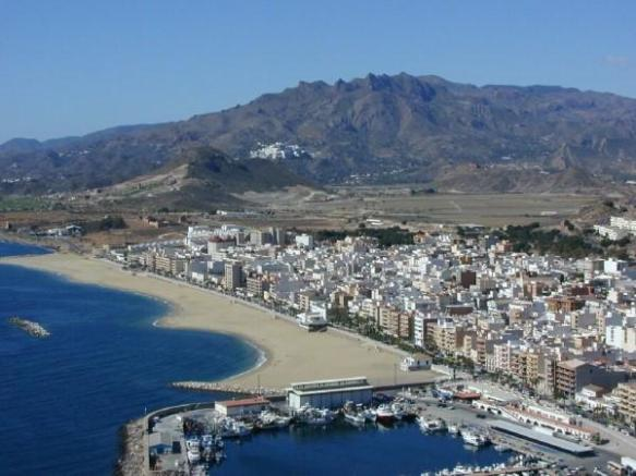 Garrucha coastline