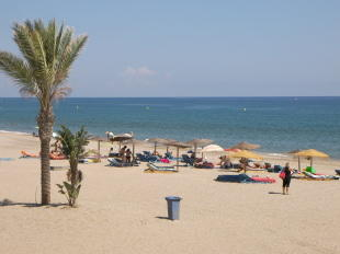 Mojácar beach