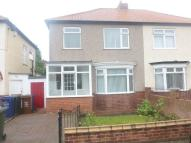 semi detached home in Hoyle Avenue, Fenham...