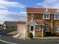 semi detached property in Priory Park, Amble