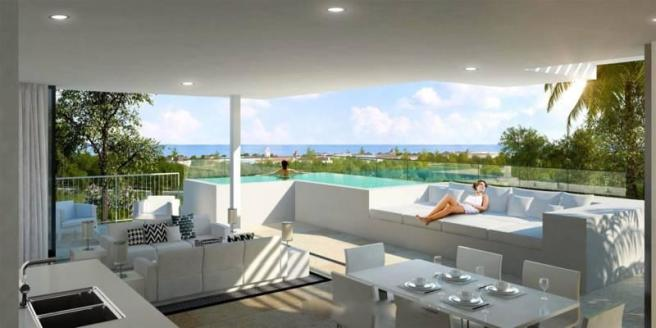 Lounge and terrace