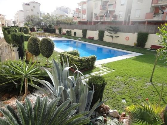 Gardens and pool
