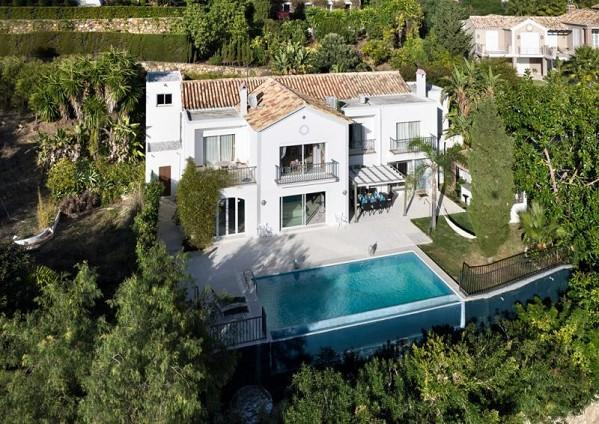 Villa from above