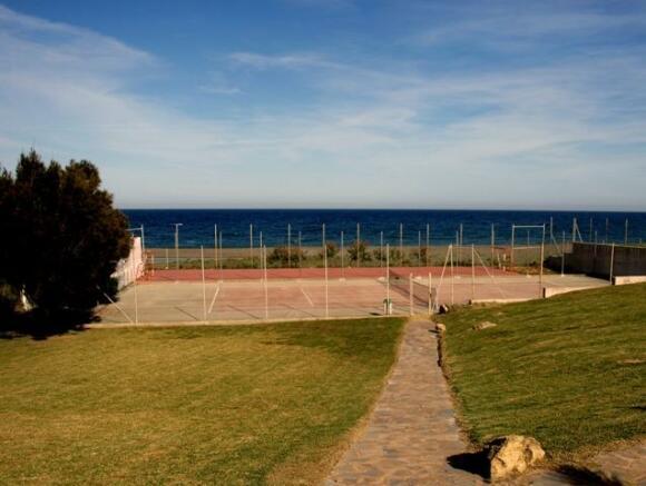 Tennis on the beach